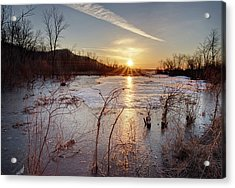 Sunrise At The Refuge Acrylic Print
