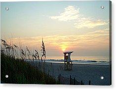 Sunrise Over Wrightsville Beach Acrylic Print
