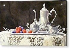 Tea Time  Original Acrylic Print