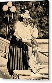 The Church Lady Acrylic Print by Curtis James