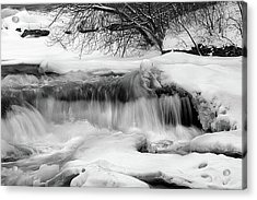Acrylic Print featuring the photograph The Frigid Niagara by Timothy McIntyre