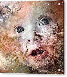 The Prophet On Children Acrylic Print by Barry Novis