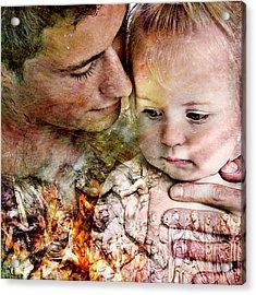 The Prophet On Love Acrylic Print by Barry Novis