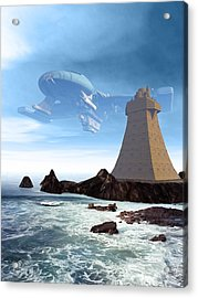 The Unguided Acrylic Print
