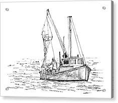 The Vessel Little Jim Acrylic Print