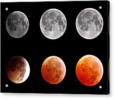 Total Eclipse Of Heart Sequence Acrylic Print by Joannis S Duran / Freelance Photographer