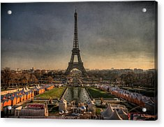 Tour Eiffel Acrylic Print by Philippe Saire - Photography