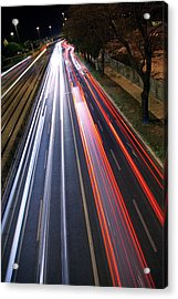 Traffic Lights Acrylic Print by Carlos Caetano