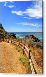 Acrylic Print featuring the photograph Trail To The Lost Coast by James Eddy