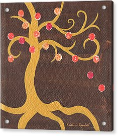 Tree Of Life - Left Acrylic Print by Kristi L Randall