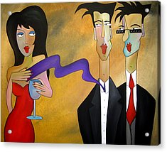 Tres Chic Acrylic Print by Tom Fedro - Fidostudio