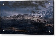 Troubled Waters Acrylic Print