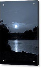 Twilight Acrylic Print by Sue Stefanowicz
