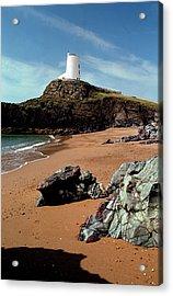 Twr Mawr On Ynys Llanddwyn Acrylic Print