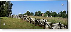 View Of Clover Hill Tavern Appomattox Court House Virginia Acrylic Print by Teresa Mucha