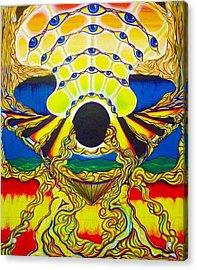 Viod  Movement Acrylic Print by Ben Christianson