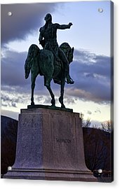 Washington Monument At West Point Acrylic Print by Dan McManus