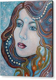 Acrylic Print featuring the painting Water Dreamer by Sheri Howe