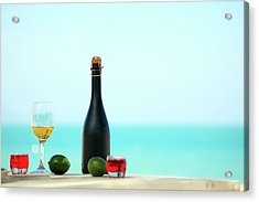 Wine  Acrylic Print by MotHaiBaPhoto Prints