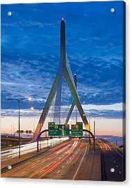 Zakim Bridge Acrylic Print