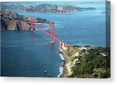 Aerial View Canvas Prints