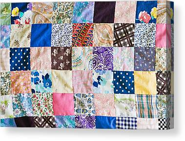 Home Made Quilts Canvas Prints