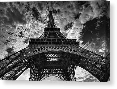 French Photographs Canvas Prints