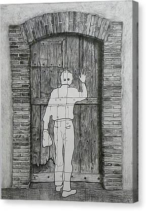 Etant Donnes Canvas Prints