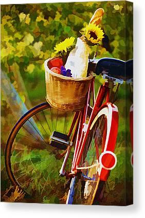 Sparkling Wines Digital Art Canvas Prints