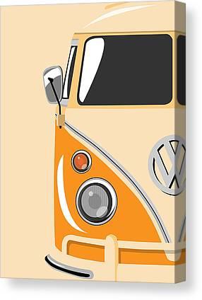 Cars Digital Art Canvas Prints