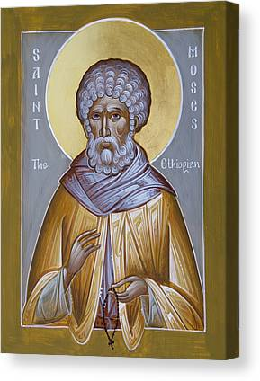 St Moses The Black Canvas Prints