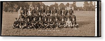 Catholic University Football Team, Oct Canvas Print by Fred Schutz Collection