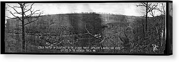 German Position Of Resistance Canvas Print