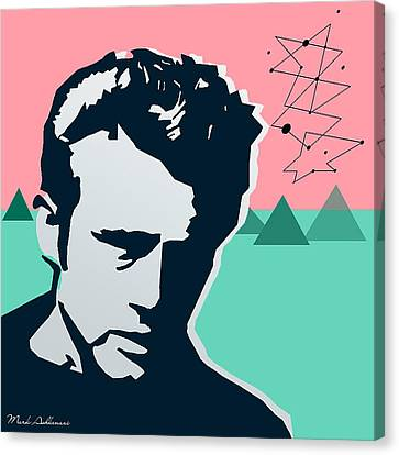 James Dean Canvas Print by Mark Ashkenazi