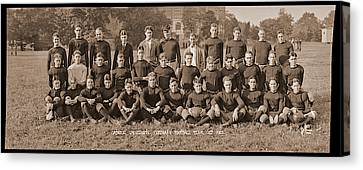 Catholic University Freshman Football Canvas Print by Fred Schutz Collection