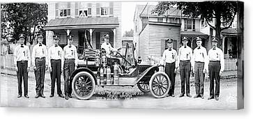 Fire Co Havre De Grace Md Canvas Print