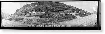 Former German Camp, Between St Mihiel Canvas Print