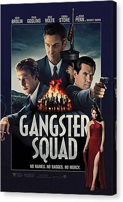 Gangster Squad Canvas Print by Movie Poster Prints