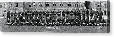 Georgetown U Football Squad Canvas Print