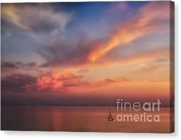Good Morning Cape Cod Canvas Print by Susan Candelario