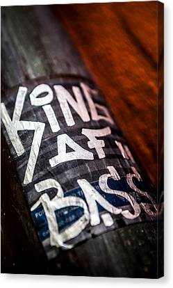 Canvas Print featuring the photograph King Of Bass by Sennie Pierson