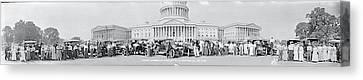 Lanscaster Automobile Club Washington Dc Canvas Print