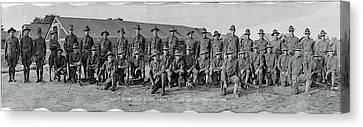 Machine Gun Company Fort Myer Va Canvas Print