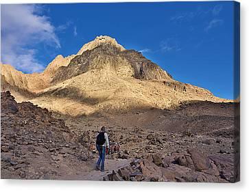Mount Sinai Canvas Print