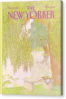 New Yorker May 30th, 1983 Canvas Print
