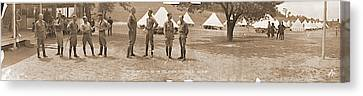 Fayetteville Canvas Print - Officers Camp Newayo New York State by Fred Schutz Collection