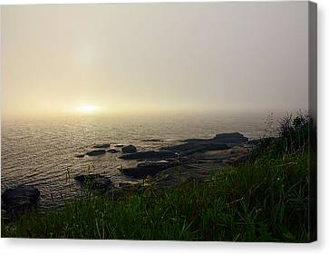 State Of Rhode Island Canvas Print - Prelude by Lourry Legarde