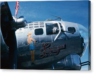 Rita B17 Canvas Print by Gary Brandes