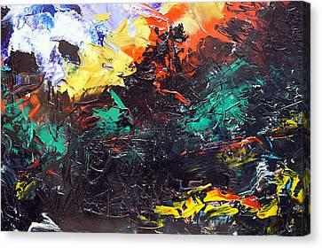 Schizophrenia Canvas Print by Sergey Bezhinets