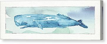 Sea Life V Canvas Print by Lisa Audit